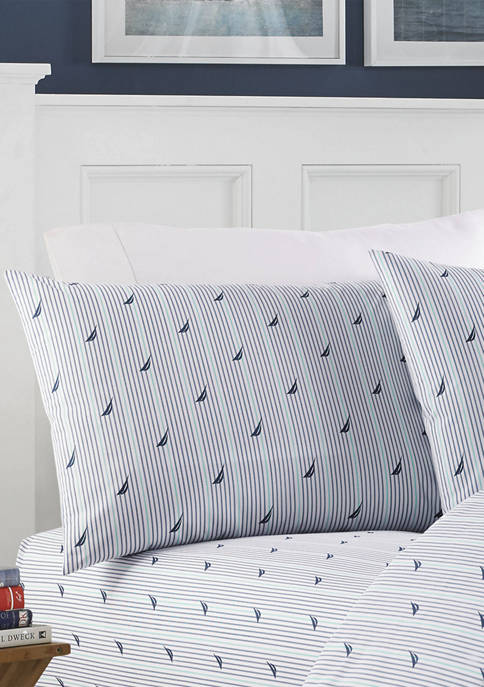 Nautica Audley Cotton Sheet Set