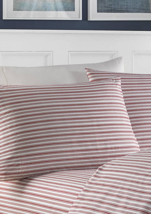 Nautica Coleridge Stripe Cotton Sheet Set