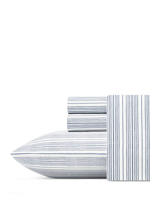 Beaux Stripe Cotton Sheet Set