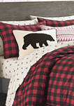 Mountain Plaid Comforter Sham Set