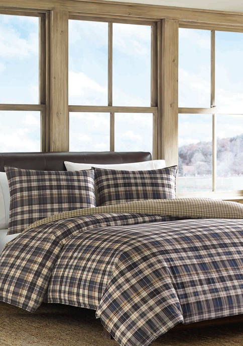 Eddie Bauer Port Gamble Duvet Cover Set