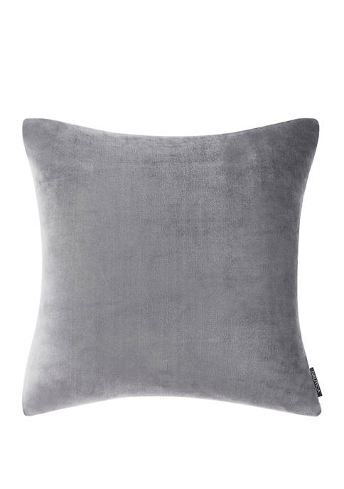Nautica Ultra Soft Plush Solid Polyester European Sham