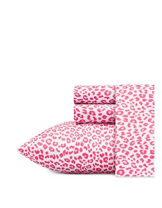 Betsey Johnson Womens Multi-Color Leopard Print Belt Sz S