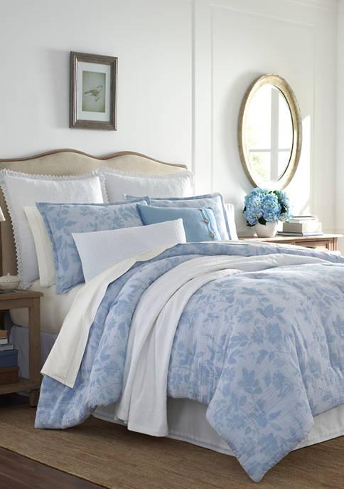 Laura Ashley Liana Cotton Comforter Sham Set