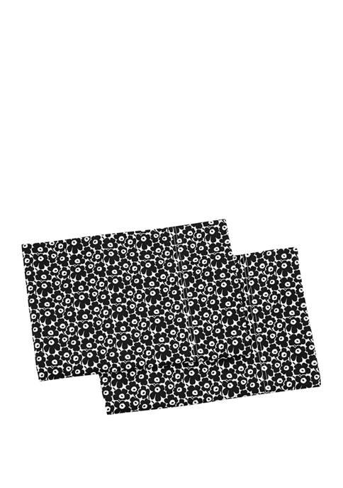 Marimekko Pikkuinen Unikko Cotton Pillowcase Set