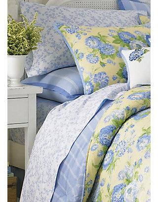 Laura Ashley Salisbury, Laura Ashley Bedding Blue And Yellow