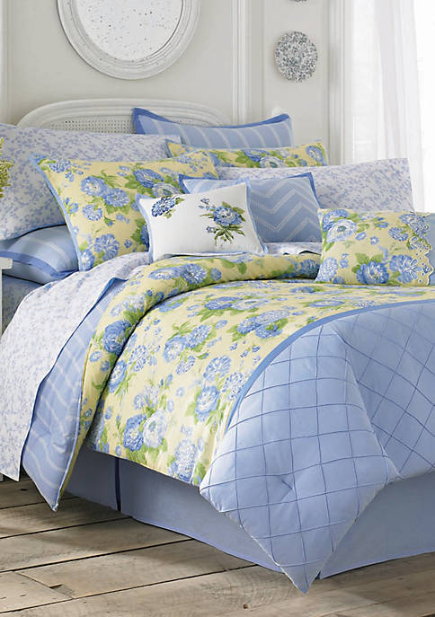 Salisbury French Blue Twin Sheet Set - Fitted 75-in. x 39-in.