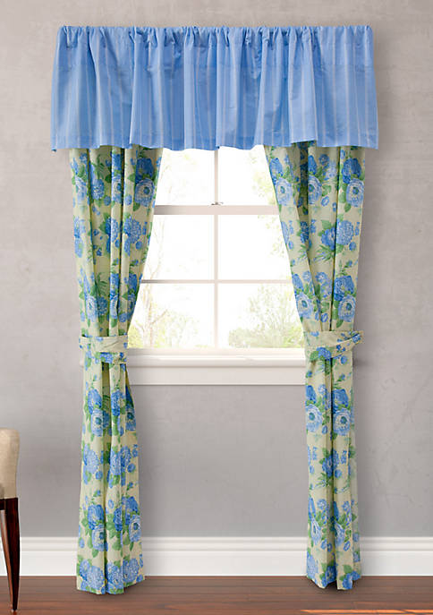 Salisbury French Blue Valance 15-in. x 86-in.
