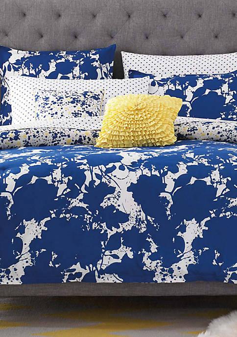 Something Blue Ocean Blue Full/Queen Comforter Set 86-in. x 86-in.