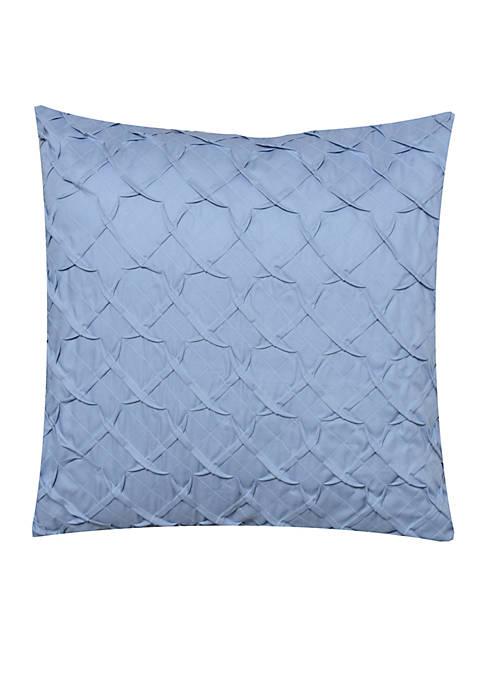 Delphine Pleated Decorative Pillow 18-in. x 18-in.