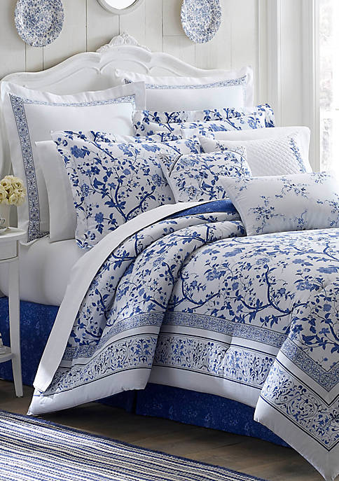 Laura Ashley Charlotte Full Comforter Set