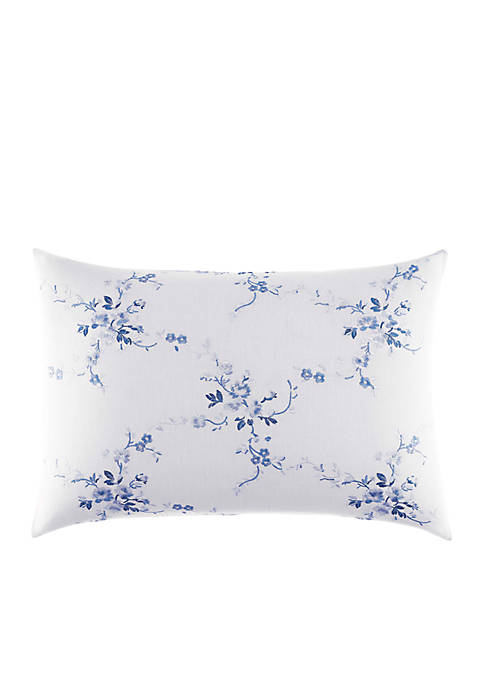 Laura Ashley Charlotte Embroidered Breakfast Pillow