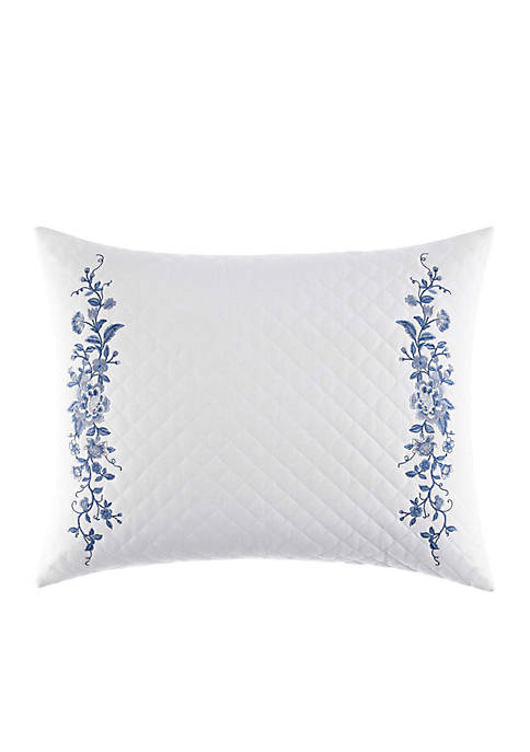 Laura Ashley Charlotte Diamond Stitch Pillow