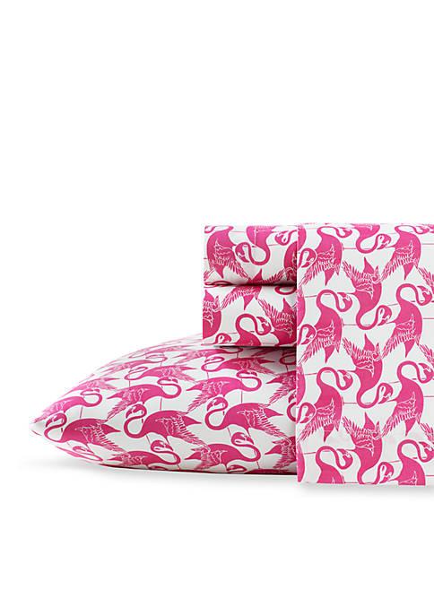 Poppy & Fritz® Flamingo Sheet Set