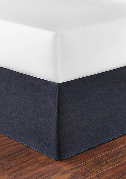 Denim Twin Bedskirt