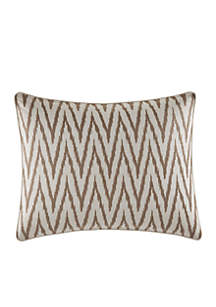 Sandy Coast Embroidered Breakfast Pillow