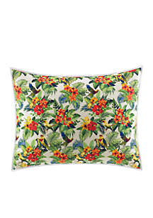 Parrot Cove Quilted Standard Sham