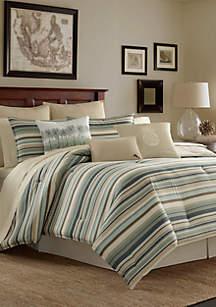 Canvas Stripe Duvet Set