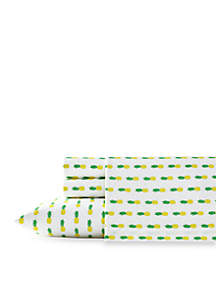 Poppy & Fritz® Pineapple Sheet Set
