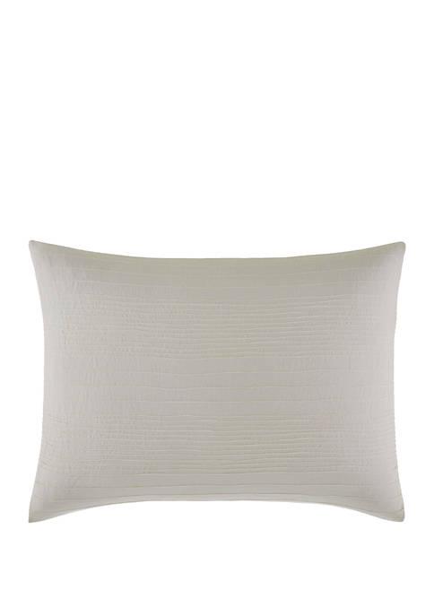 Silk Stripe Throw Pillow