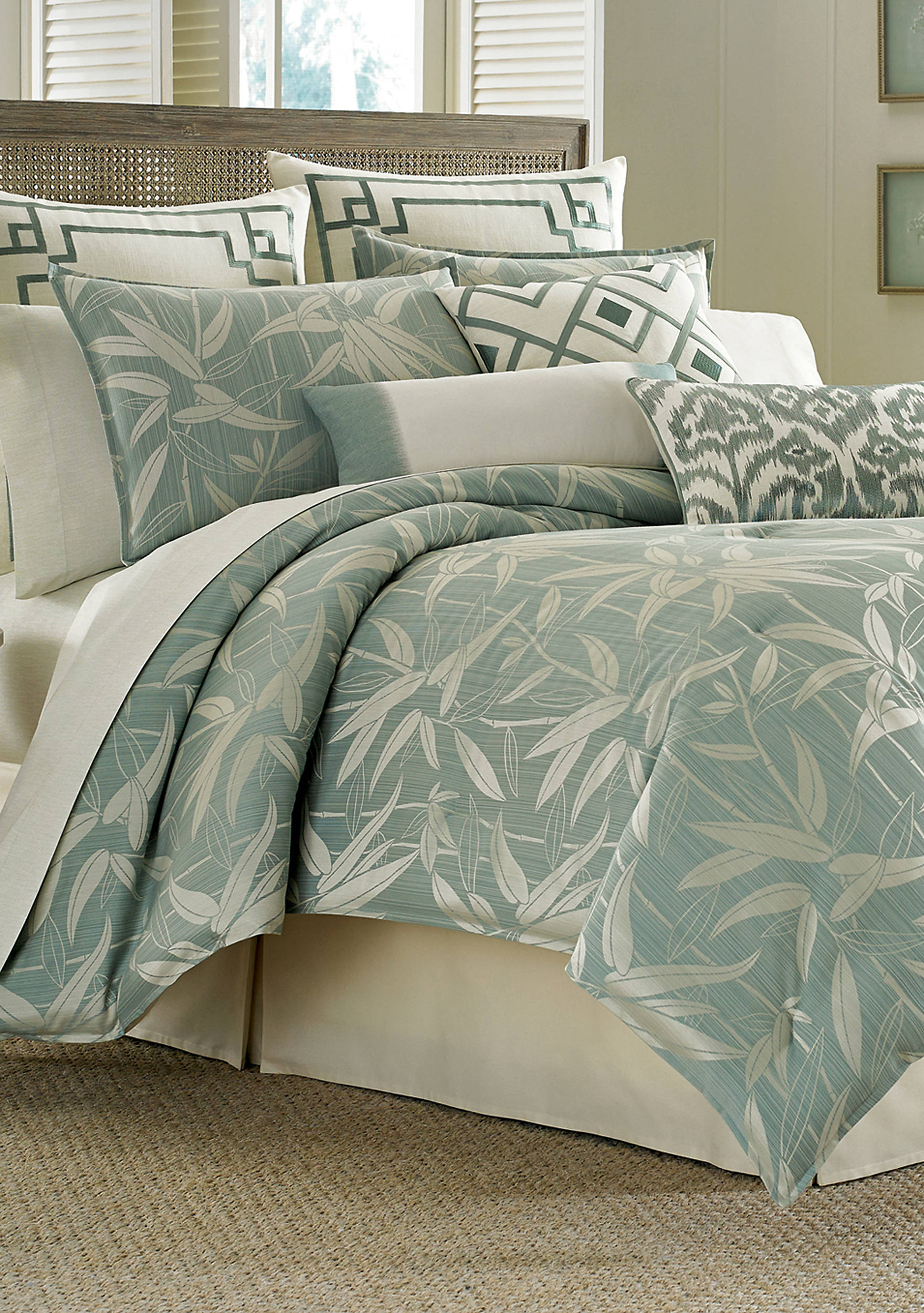 of overstock tommy on shipping quilt bedding sale prince product set bath paisley free king bahama today comforter cotton