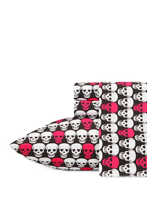 Betsey Johnson Skull Sheet Sets