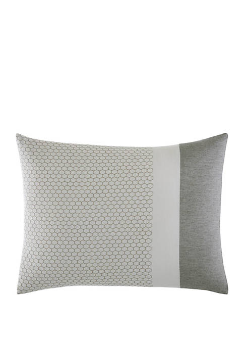 Tuille Floral Honeycomb Throw Pillow