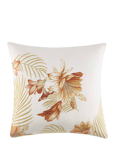 Tommy Bahama® Loredo Gardens Embroidered Throw Pillow