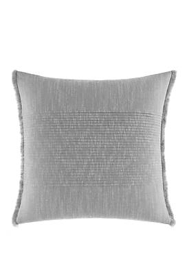 Bronwell Fringe Pleated Throw Pillow