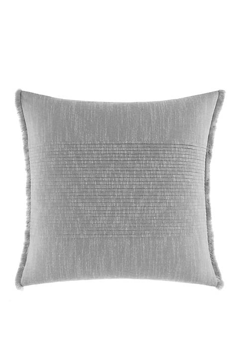 Nautica Bronwell Fringe Pleated Throw Pillow