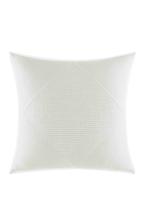 Nautica Bronwell Pieced Pintuck Throw Pillow