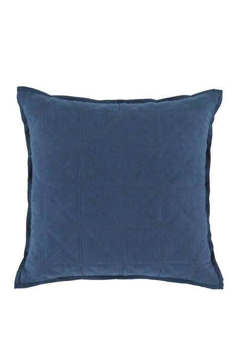Sailor Diamond Quilted Decorative Pillow