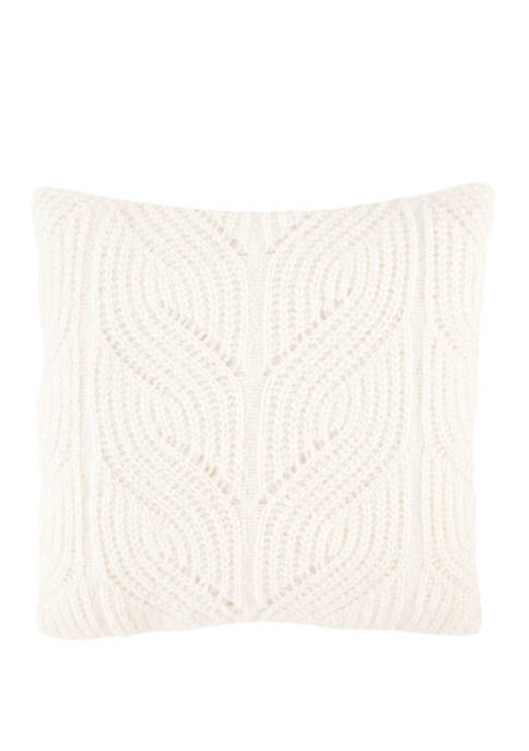 Nautica Sailor Fancy Knit Decorative Pillow