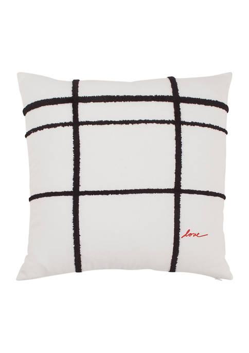 Ellen DeGeneres Riad 24 Basket Weave Throw Pillow