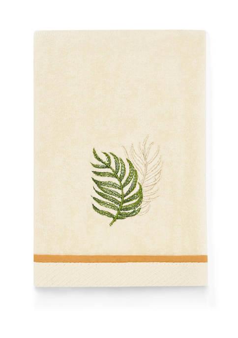 Palmiers Cotton Fingertip Towel
