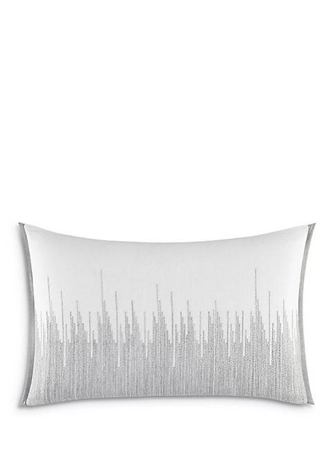 Degrade Stitching Decorative Pillow