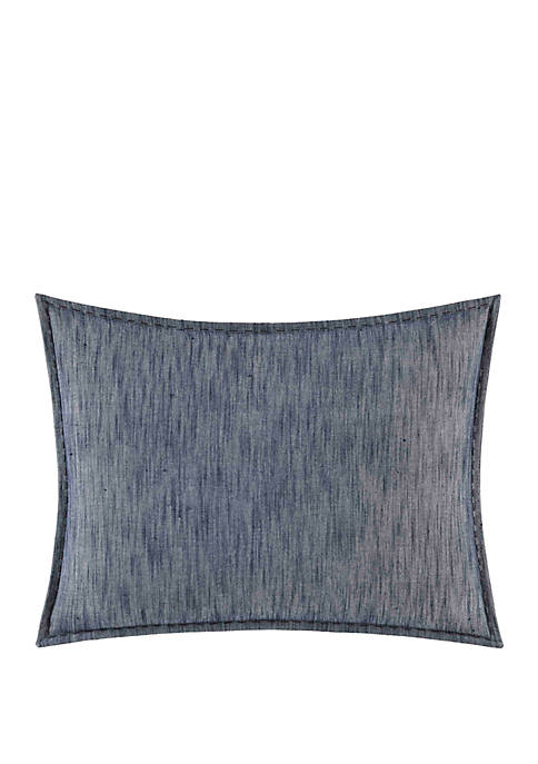 Melange Gauze Geo Throw Pillow
