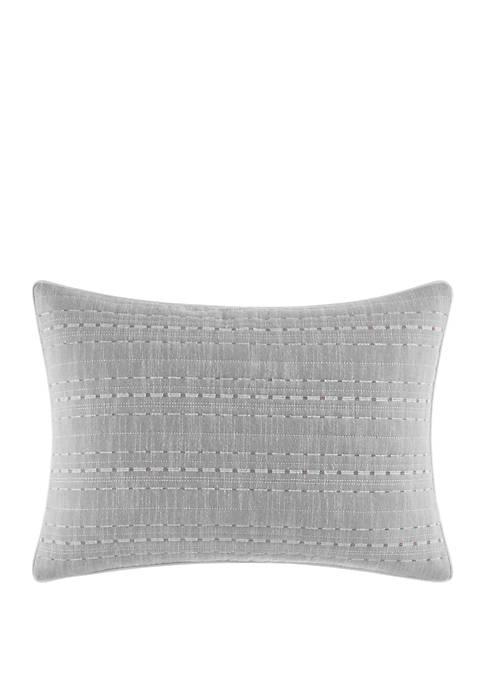 Nautica Bronwell Embroidered Throw Pillow