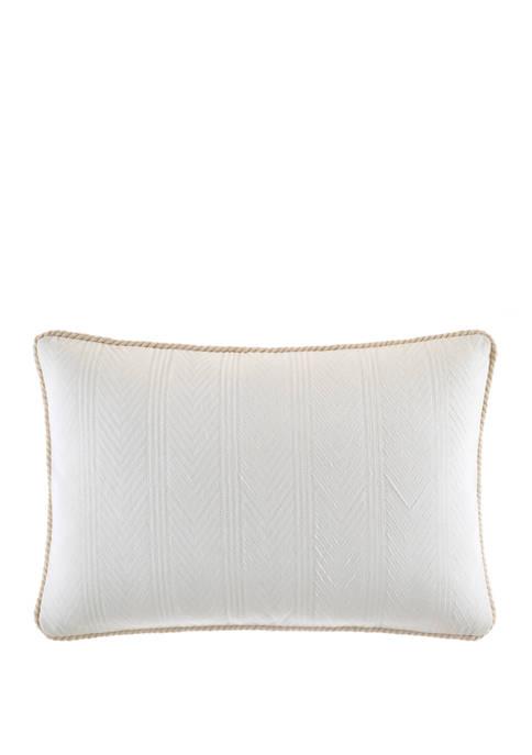 Nautica Saybrook Cotton Decorative Pillow