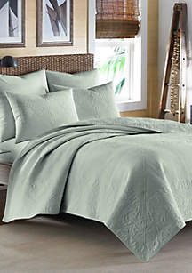 Tommy Bahama Nassau Turquoise Quilt- Full/Queen