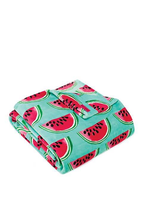 Betsey Johnson Watermelon Picnic Throw