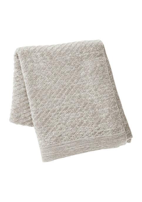 Kenneth Cole New York Essentials Chunky Knit Cotton