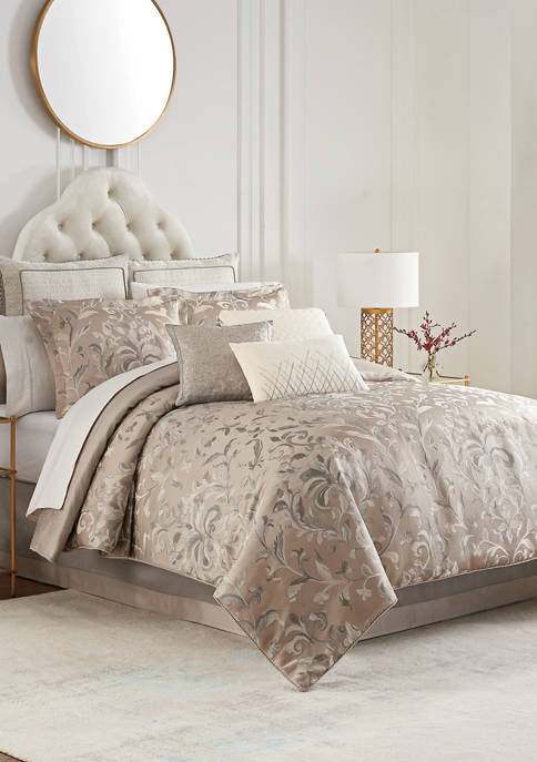 Waterford Andria Reversible 4 Piece Comforter Set