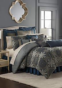 Jonet Comforter Set Indigo