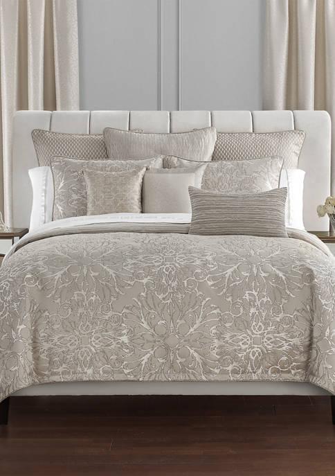 4 Piece Arianna Reversible Comforter Set