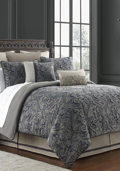 4 Piece Danehill Reversible Comforter Set
