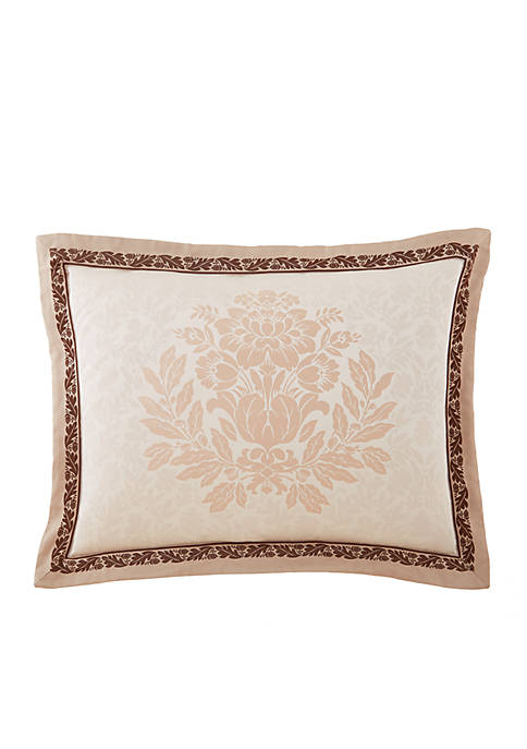 Waterford Aileen Natural Standard Sham 20-in. X 26-in.