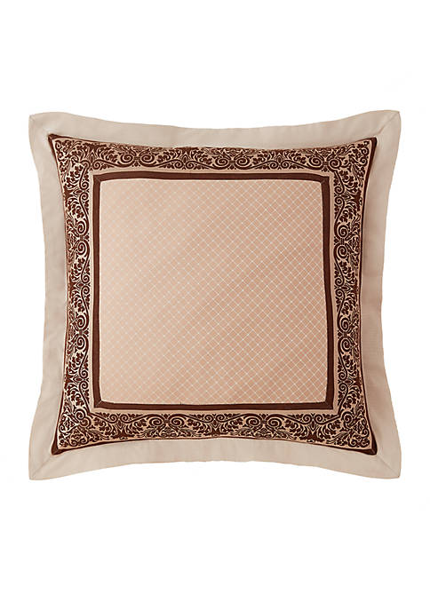Aileen Natural Euro Sham 26-in. x 26-in.