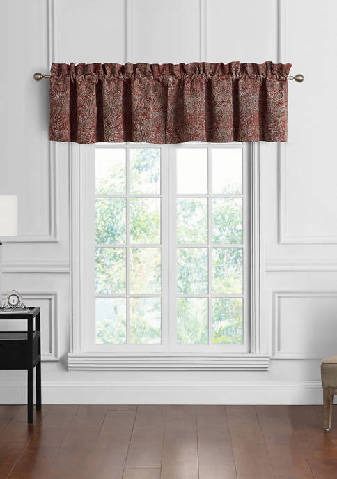 Highline Bedding Co. Caine Tailored Window Valance