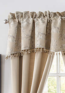 Waterford Chantelle Scalloped Valance